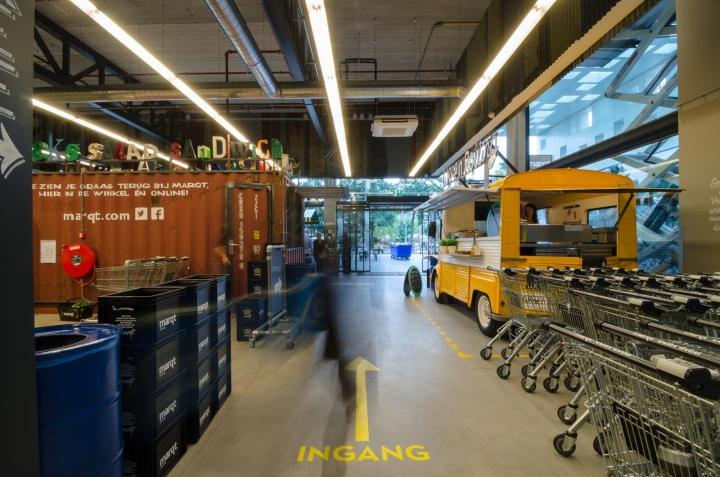 Interieur Marqt Amsterdam Gelderlandplein