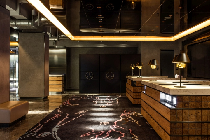 187 Park Lane Hotel Lobby Amp Lounge By Cl3 Architects Hong Kong