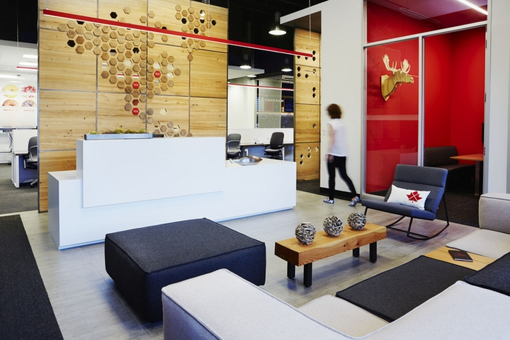 richs offices by straticom toronto canada buildinglink offices design republic