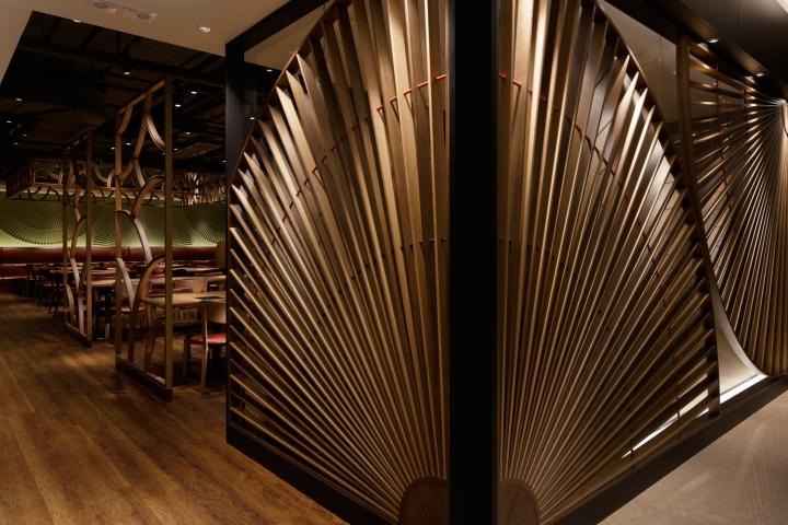 香港亚洲小餐馆商业店面设计