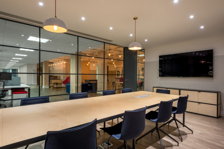 Simpson Carpenter Office by Furniss May London UK Retail