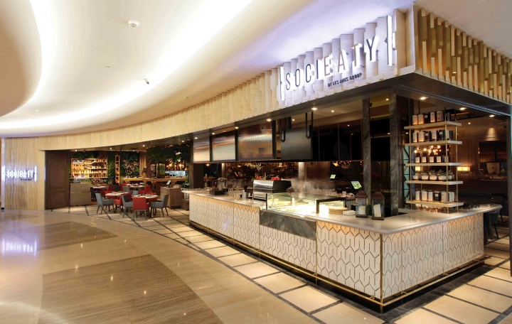 Socieaty Restaurant By Metaphor Interior At Plaza Indonesia Jakarta Indonesia Retail Design