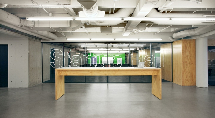 Startup Hall Offices By Shed Architecture Amp Design