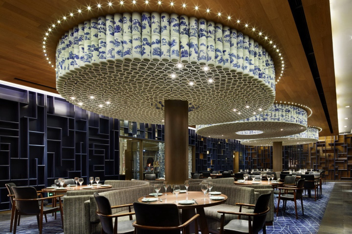 Restaurant space retail design