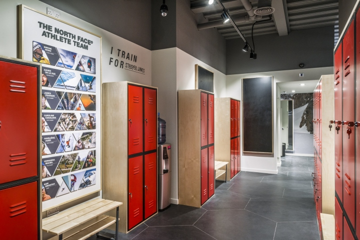 The north face flagship store by green room london uk for Green room retail design