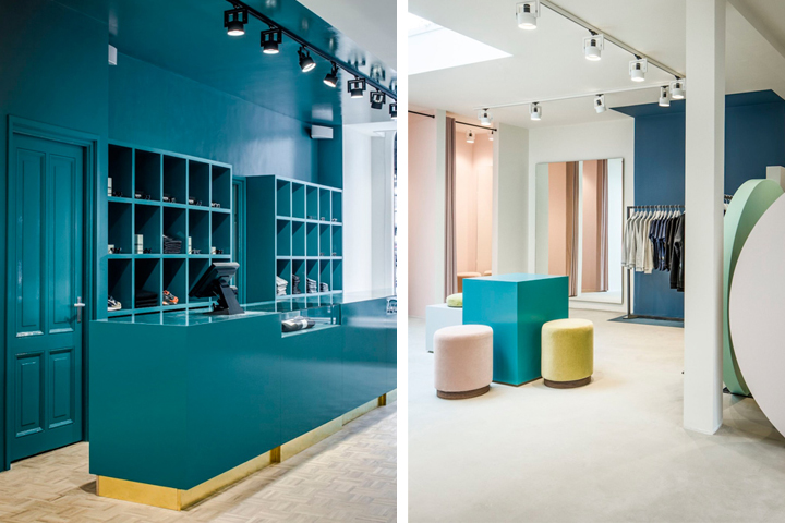 The pelican studio concept store by framework studio Interior design shops amsterdam