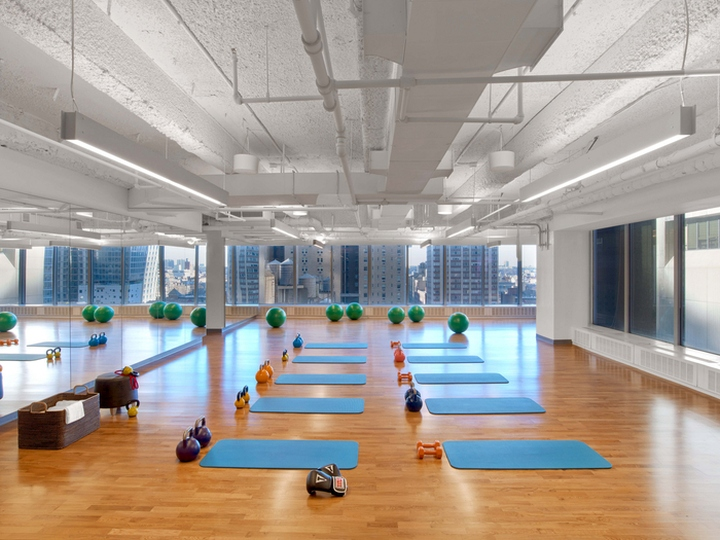Viacom Wellness Center By M Moser Associates New York