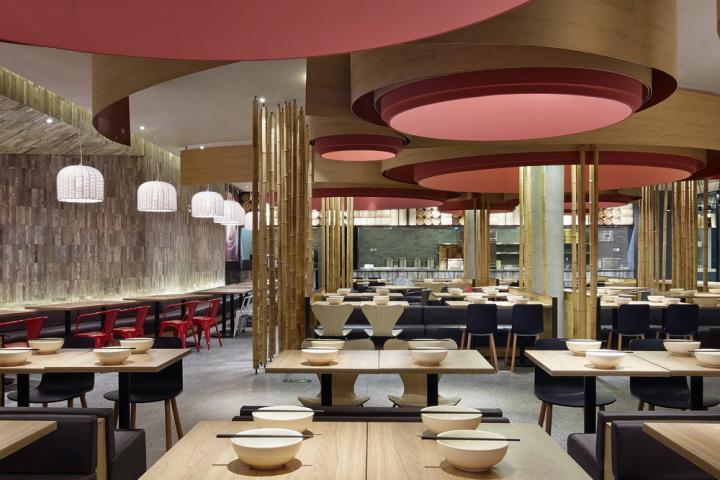 Yangyang baozipu restaurant by golucci international