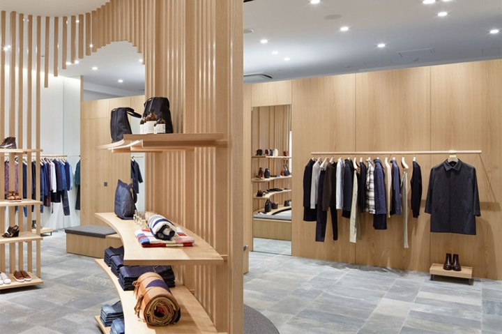 Mens Clothing Subscription >> » A.P.C. Store by Laurent Deroo, Kyoto – Japan