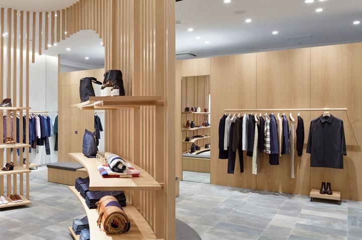 a p c store by laurent deroo kyoto japan retail. Black Bedroom Furniture Sets. Home Design Ideas