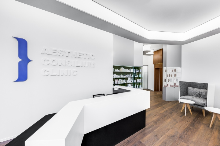 Pinchuk ADT is a team of experts in interior design of commercial spaces in  Ukraine. The team developed an interior of clinic of aesthetic medicine ...