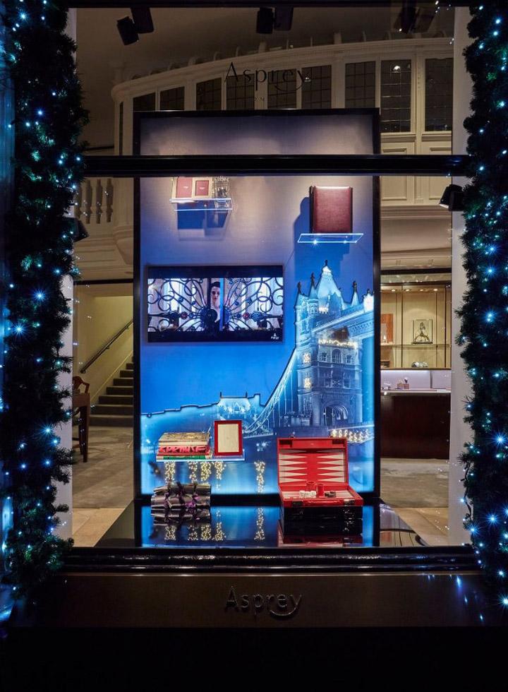 Asprey Christmas Windows 2015 By Lucky Fox London Uk