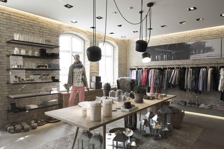 丹麦湾店生活体验店形象设计