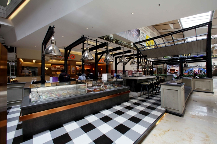 Bakerzin Caf By Metaphor Interior At Kota Kasablanka Jakarta Indonesia