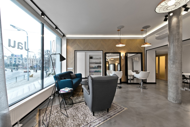 187 Beauty Salon By Inarch Vilnius Lithuania