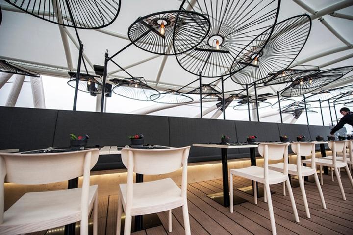 besame mucho restaurant lighting by ricardo casas design at milan expo 2015 mexico pavilion milan italy