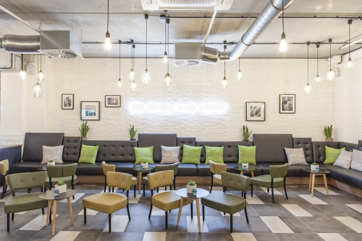 clintons restaurant u0026 staff canteen by susanne kaiser u2013 architektur u0026 interior design berlin