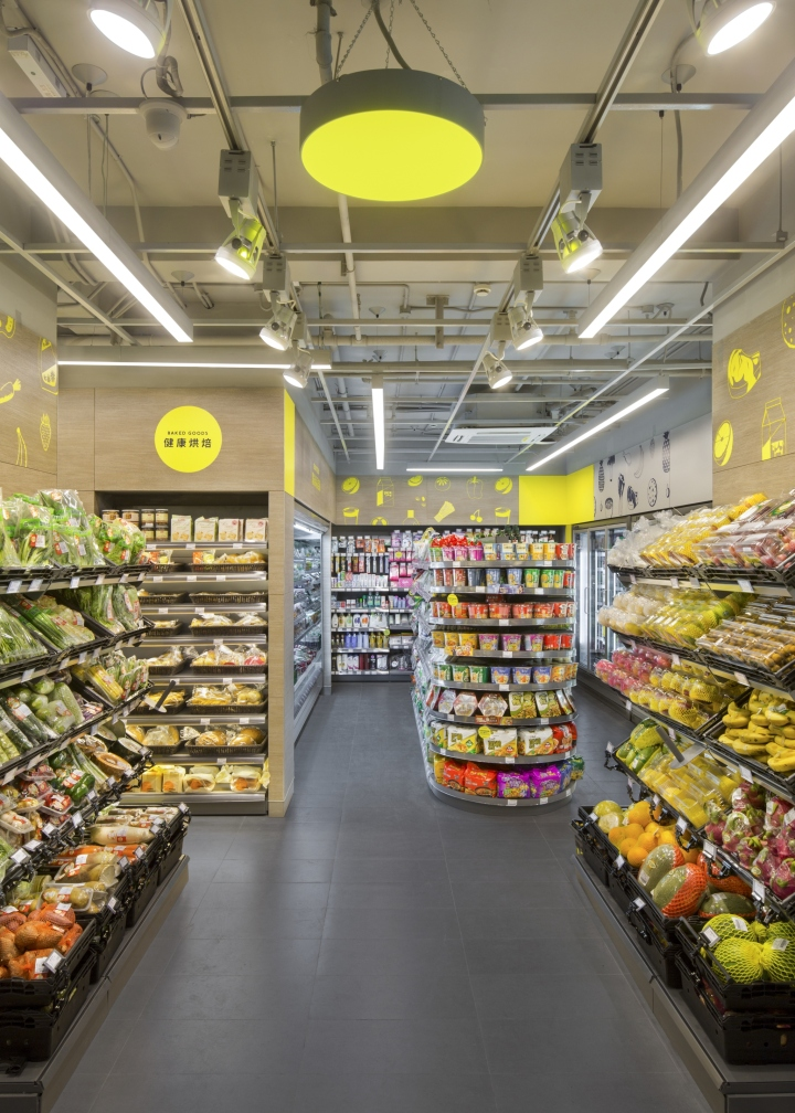 Cp Fresh Mart Interior Brand Design By Triad Shanghai China Retail Design Blog