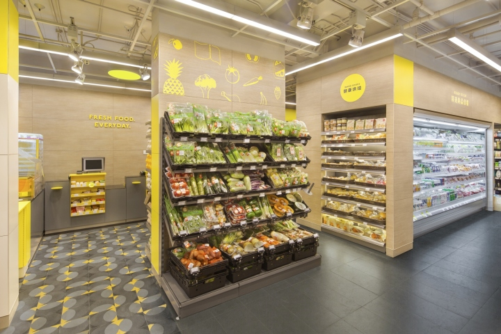 187 Cp Fresh Mart Interior Amp Brand Design By Triad Shanghai