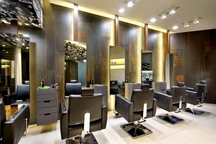 Capital salon by archis patel tanvi rajpurohit vadodara for Interieur stylist
