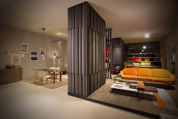 cassina showroom by patricia urquiola new york city