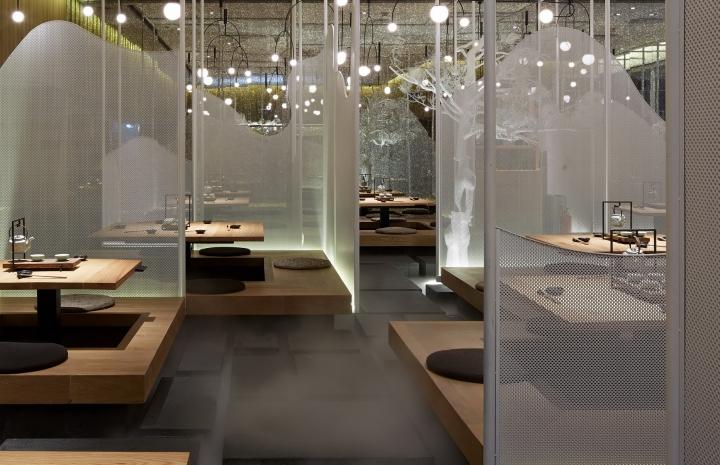 Diaoye niunan restaurant by golucci international design