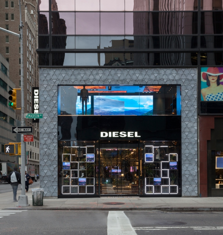 Diesel Flagship Store New York City 187 Retail Design Blog