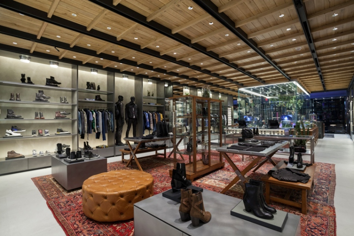 diesel flagship store new york city retail design blog. Black Bedroom Furniture Sets. Home Design Ideas
