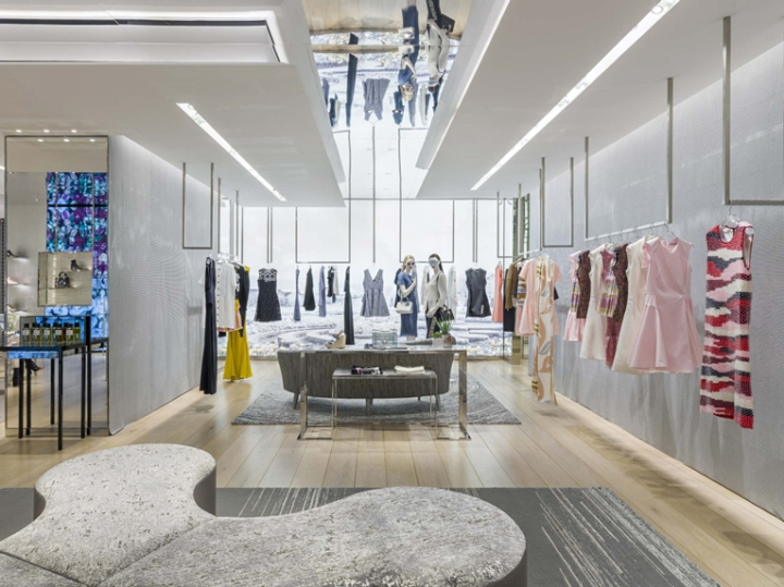 Dior store by peter marino mexico city mexico retail for High design jewelry nyc