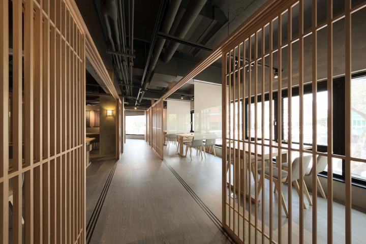 don tei restaurant by lee s interior design taipei