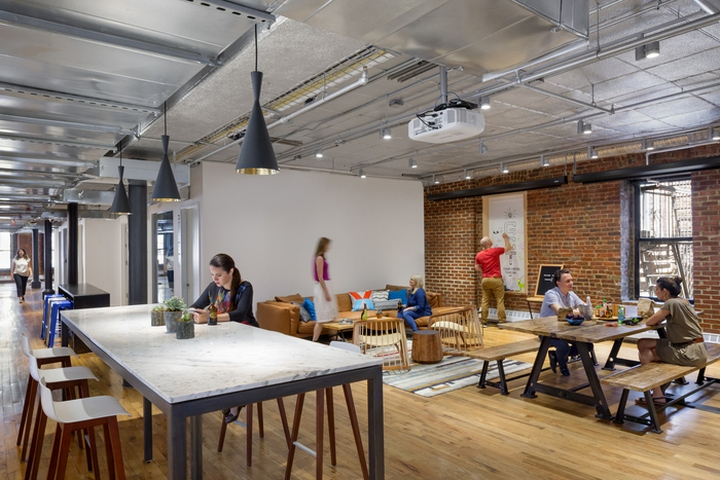 dropbox offices by studios new york city retail design blog