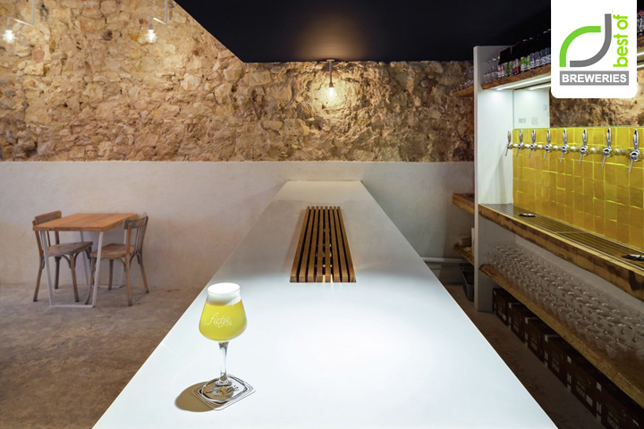 Fietje Beer Bar By Bertrand Guillon Architecture, Marseille U2013 France