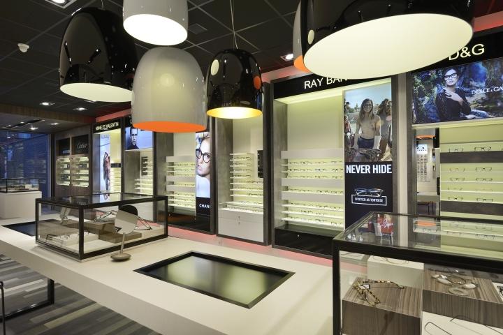 Frits van den Bosch eye store by WSB Interieurbouw, Deurne ... on the originals house, john deere house, chicago fire house,