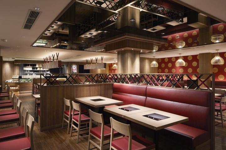 Gyujin restaurant by studio c hong kong retail design