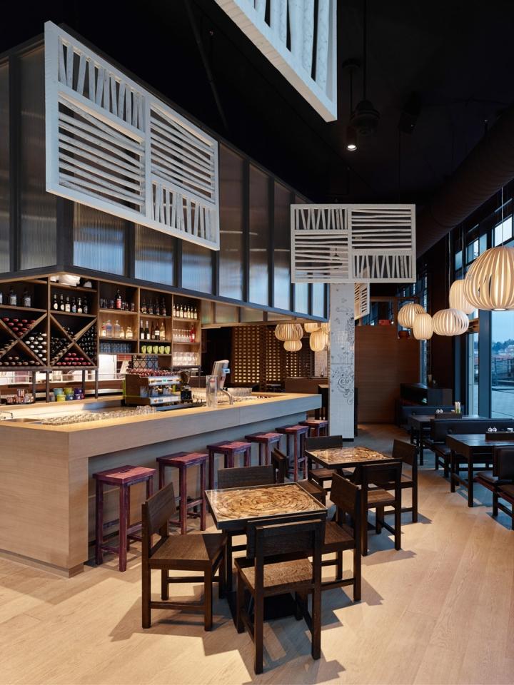 GinYuu Restaurant von Ippolito Fleitz Group, Stuttgart – Deutschland