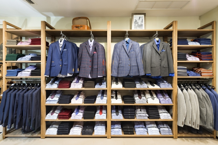 laroche men s clothes store by square design interiors