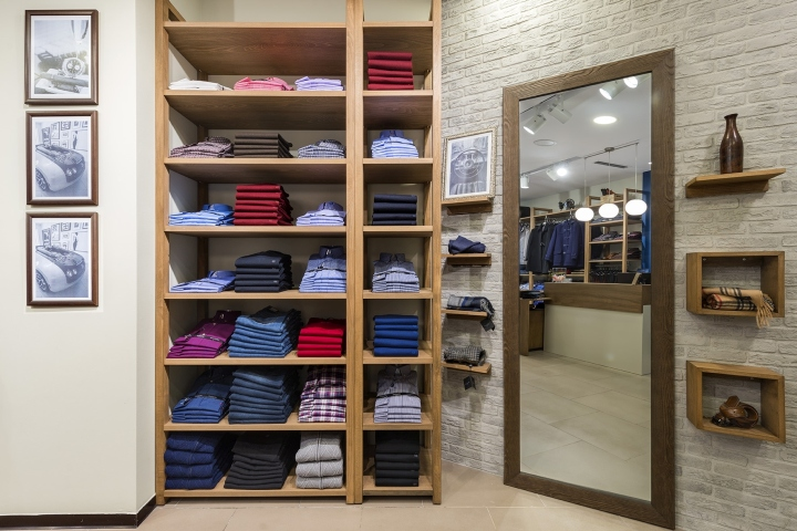 Guy Laroche Mens Clothes Store by Square Design Interiors Athens