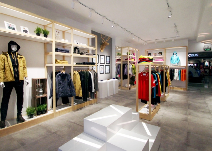 Halti flagship store by 5 star plus retail design beijing for Scandinavian design shop