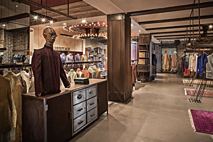 226f7b8131b Heritage boutique store by RMDK Architects