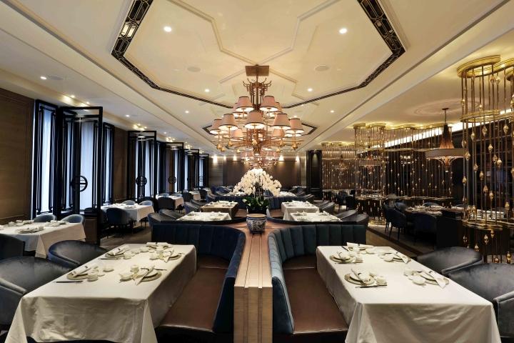 House of yuen restaurant by metaphor interior at fairmont for Interior design jakarta