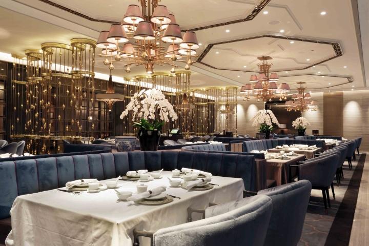 House of yuen restaurant by metaphor interior at fairmont for Interior design lasalle jakarta