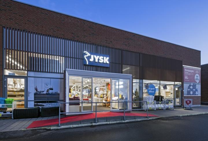 jysk byrå annika ~ jysk store by dalziel & pow, horsens – denmark » retail