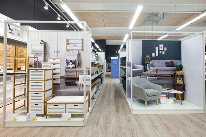 Curated Inspiration And A Stronger Scandinavian Identity Define Dalziel U0026  Powu0027s Exciting New Store Concept For Danish Furniture Chain JYSK.