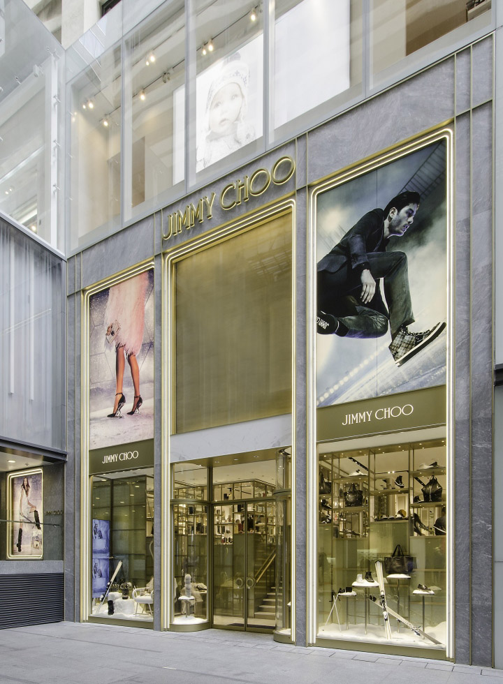 187 Jimmy Choo Store By Christian Lahoude Studio At Harbour