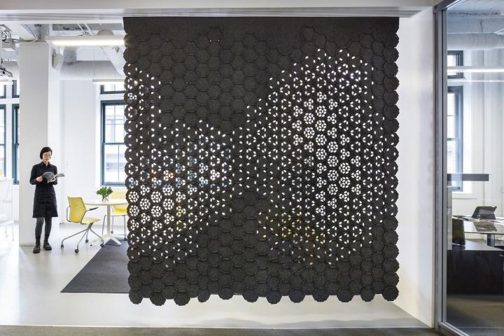 link wallcovering by gensler and filzfelt. Black Bedroom Furniture Sets. Home Design Ideas