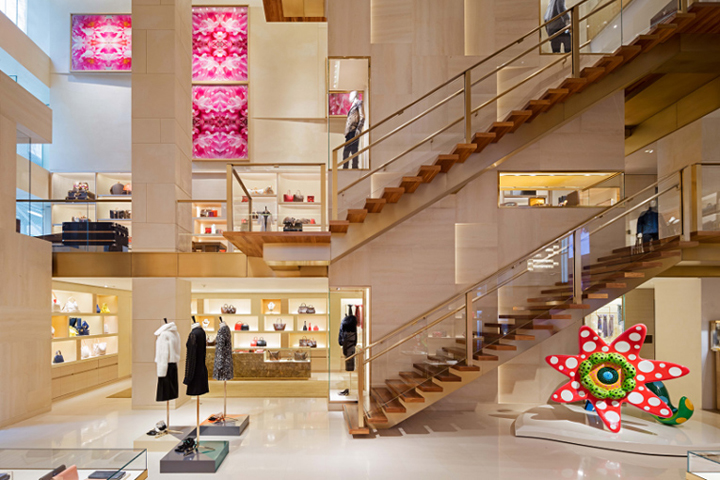 Louis Vuitton Flagship Store By Peter Marino New York City December 4th 2015 Retail Design Blog