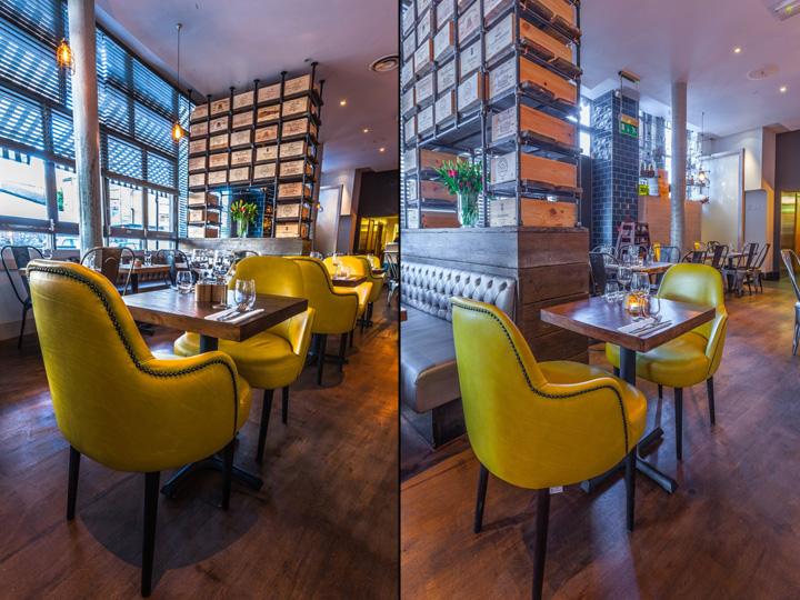 187 Melange Restaurant By Inarch London Uk