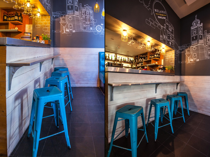 187 Melange Restaurant By Inarch London Uk