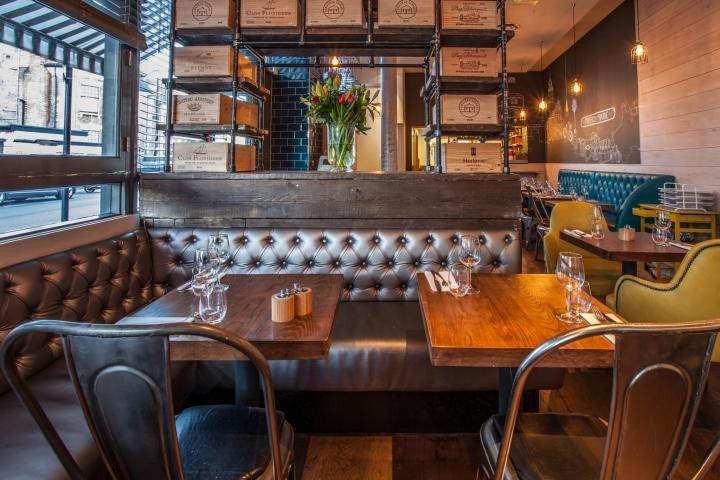 Melange Restaurant By Inarch London Uk 187 Retail Design Blog