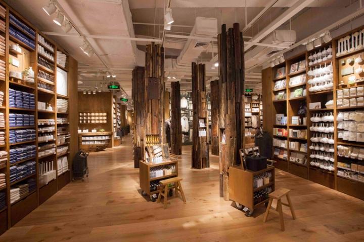 Muji Huaihai 755 Flagship Store Shanghai China Retail Design Blog